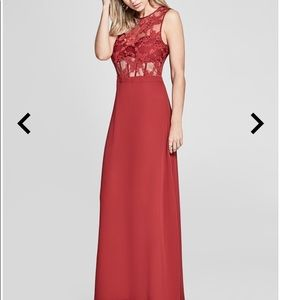 Marciano lace maxi dress. Size 0